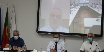 Conselho Intermunicipal da CIMAC reuniu com o Senhor Secretário de Estado Adjunto e da Defesa Nacional, Jorge Seguro Sanches
