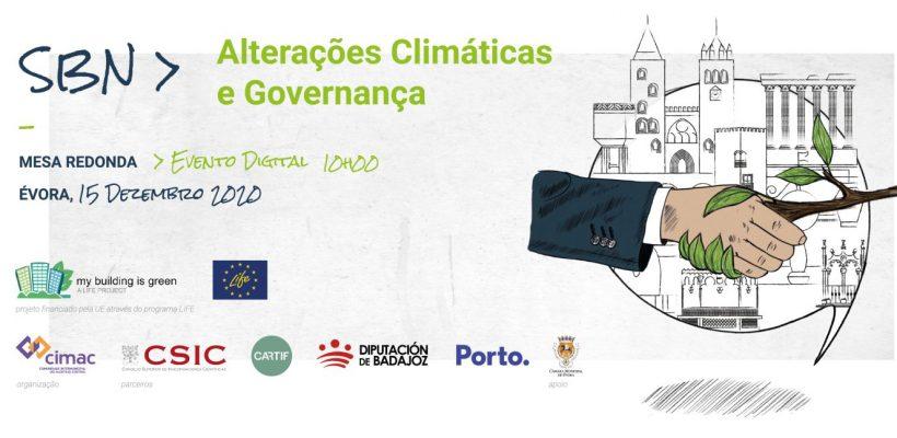 Mesa Redonda | Soluções Baseadas na Natureza: Alterações Climáticas e Governança