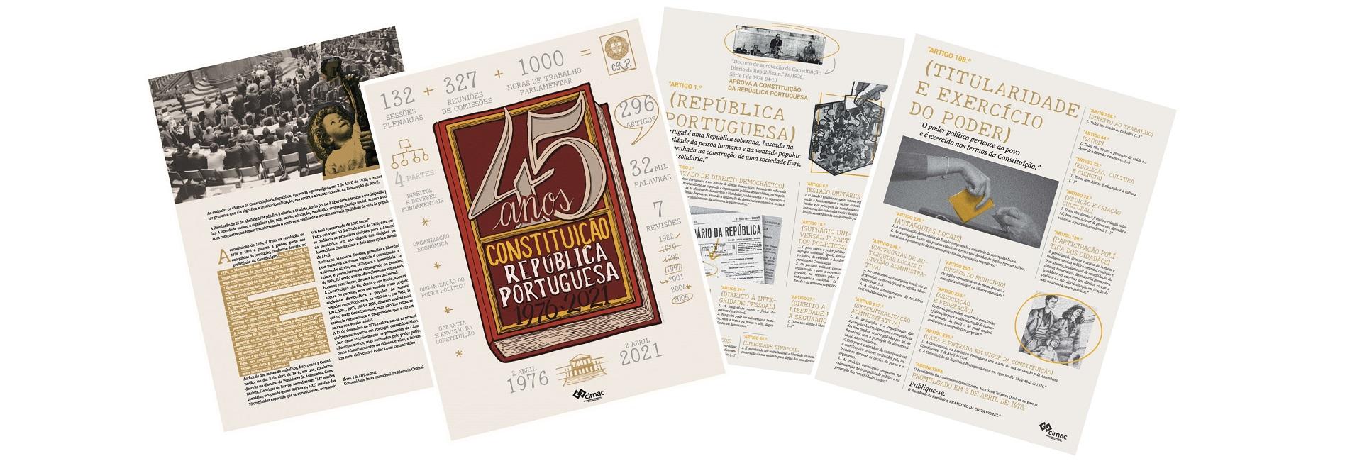 45º Aniversário da Constituição da República Portuguesa