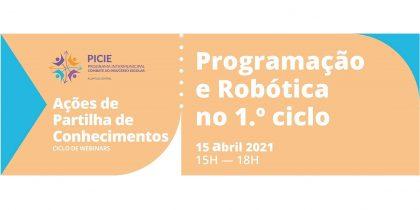 """Webinar """"Programação e Robótica no 1.º ciclo"""""""
